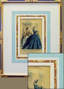 Gody Print in Period Frame