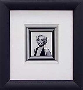 Marilyn Framed with Seven Mats