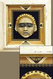 Triple Framed 3-D Mask